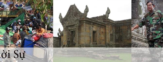 ASEAN tìm giải pháp việc tranh chấp đền Preah Vihear