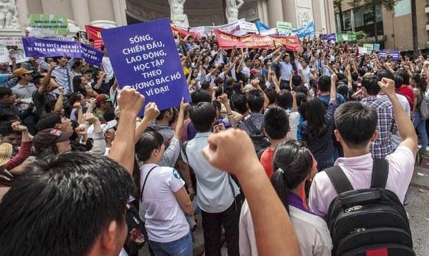 Giới tranh đấu VN với phong trào sinh viên Hong Kong