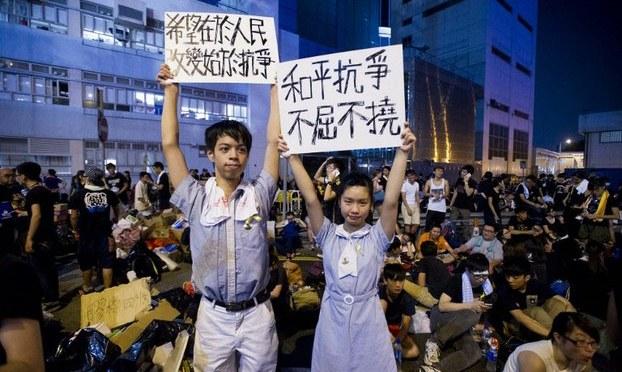Hongkong gây cảm hứng cho dân chủ Việt Nam