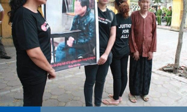 HRW công bố phúc trình về nạn bạo hành của công an VN