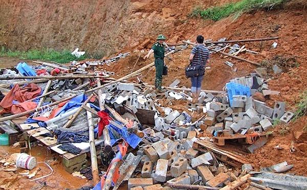 17 người chết và bị thương vì bão số 3