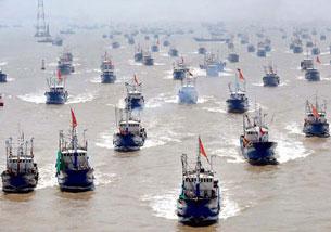 1.200 lượt tàu cá TQ đánh bắt trái phép ở vùng biển VN trong 10 năm