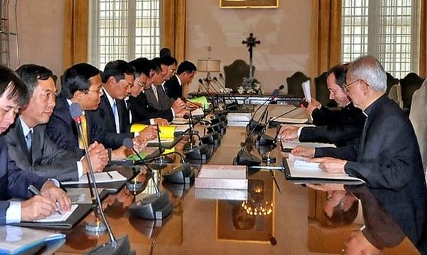 Cuộc họp vòng thứ 5 Việt Nam – Vatican tại Hà nội