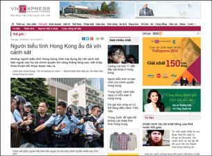Báo chí nóng tin Hong Kong: một lá bài mới