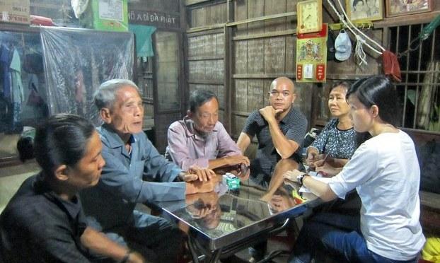 Cựu tù chính trị Lê Văn Tính được thả trước thời hạn
