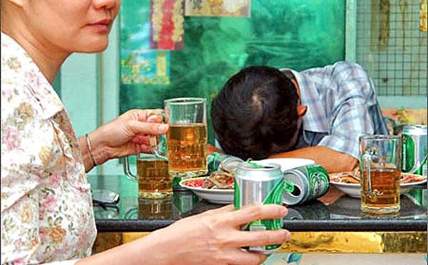 Rượu bia và bệnh gan