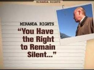 Tại Việt Nam sẽ không có quyền im lặng?