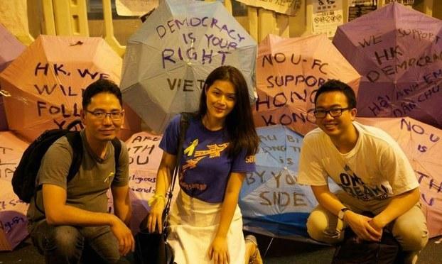 Giới trẻ Việt Nam với tin biểu tình ở Hong Kong