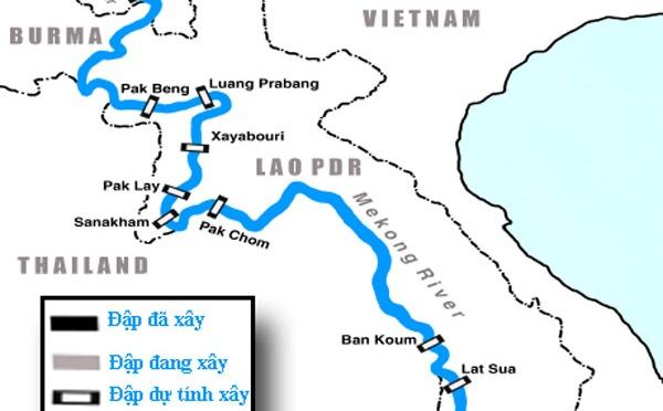 Bế tắc ở sông Mekong