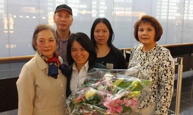 Cô Đỗ Thị Minh Hạnh trả lời RFA từ Vienna, Áo Quốc