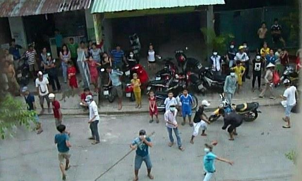 Hội thánh Tin lành ở Mỹ Phước, Bình Dương lại bị sách nhiễu tấn công