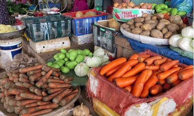 Nông dân Lâm Đồng điêu đứng vì cà chua, rau quả