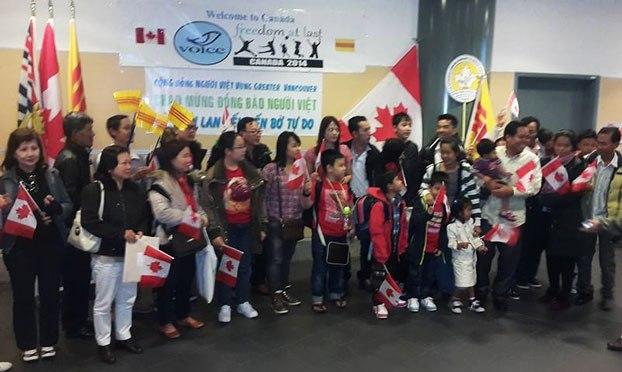 28 người Việt sống bất hợp pháp tại Thái Lan đã được tị nạn Canada