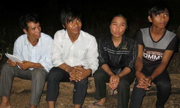 Người Thượng Tây Nguyên trốn tại Campuchia