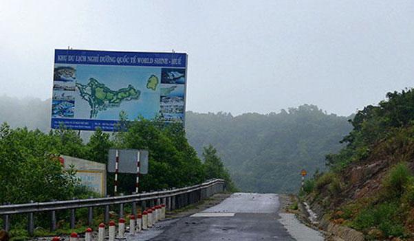 Dự án của Trung Quốc ở đèo Hải Vân chờ Thủ tướng