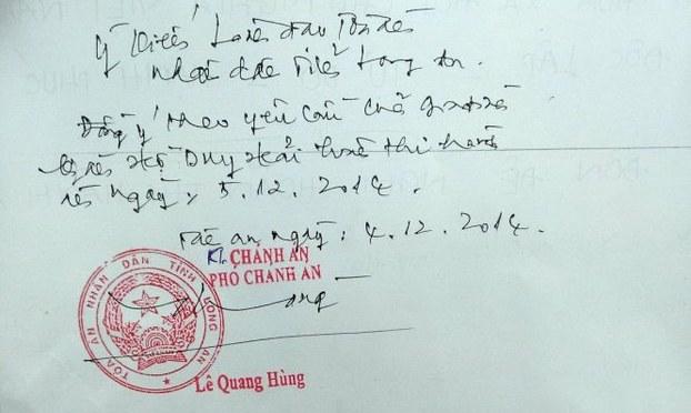 Trao đổi thư tín với thính giả 05.12.2014