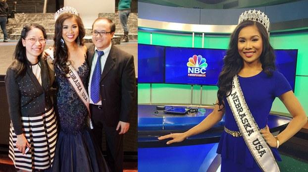 Cô gái Mỹ gốc Việt đoạt giải hoa hậu bang Nebraska