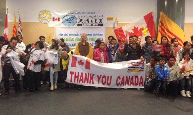 Thêm 39 người Việt tị nạn ở Thái Lan được nhận sang Canada