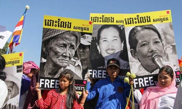 Campuchia: Biểu tình lớn Ngày Quốc tế Nhân quyền