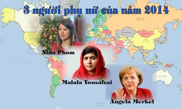 Những phụ nữ tiêu biểu của năm 2014