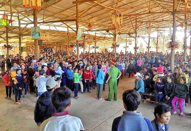 Lệnh dỡ nhà thờ giáo xứ Dak Jak