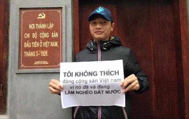 """Phong trào """"Tôi không thích đảng cộng sản Việt Nam"""""""
