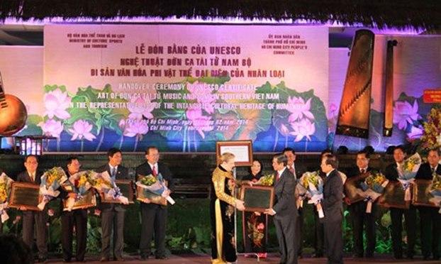 Nhìn lại một năm UNESCO công nhận Đờn Ca Tài Tử là di sản văn hóa nhân loại