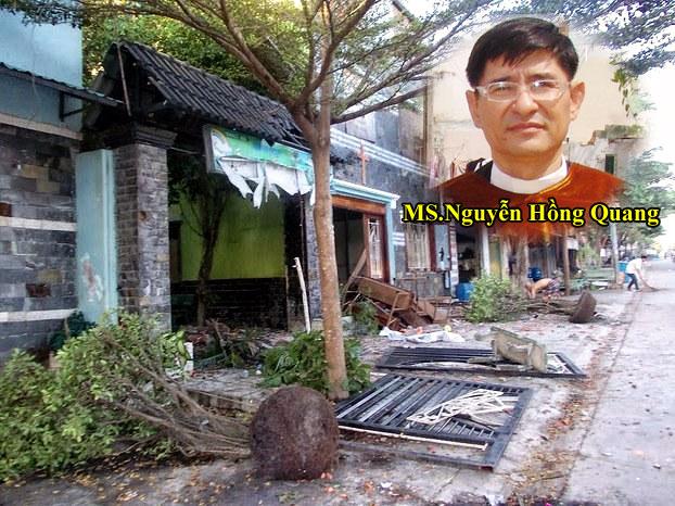 Mục sư Nguyễn Hồng Quang lại bị đánh trọng thương