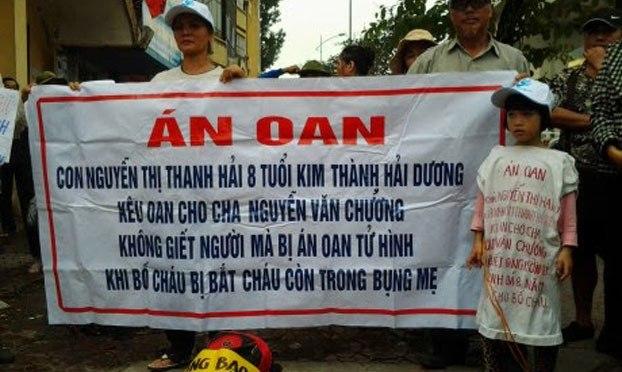 Kháng thư phản đối án tử hình tại Việt Nam