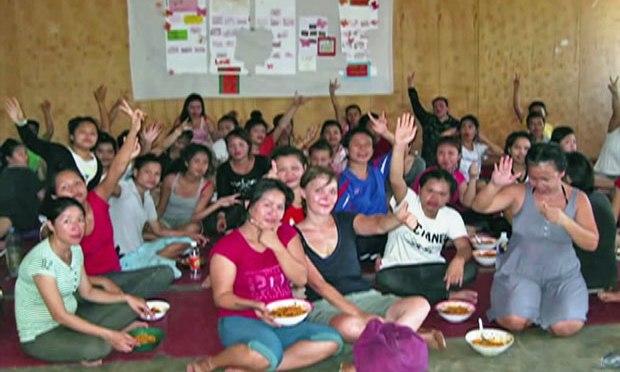 Phụ nữ Việt tại Trung tâm cai nghiện bên Lào