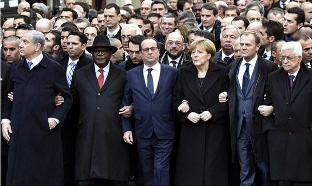 Ngày tuần hành cho « Charlie » tại Paris