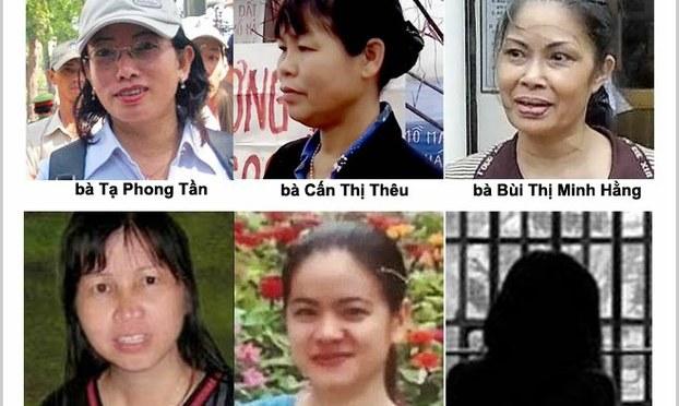 Tại sao hàng loạt nữ tù nhân lương tâm tuyệt thực?